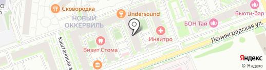 Amrita на карте Кудрово