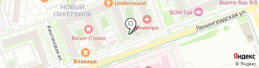 Эль на карте Кудрово