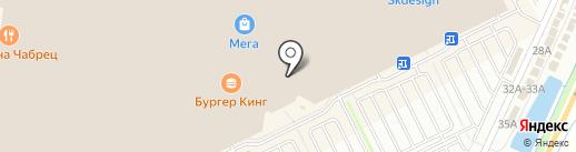 MAC на карте Кудрово