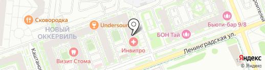 Белорусский домик на карте Кудрово
