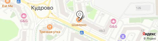 ХочуКвартиру.ру на карте Кудрово