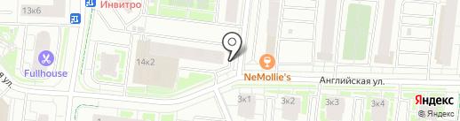 ЖЭС №4 на карте Кудрово