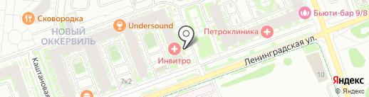 Буханка на карте Кудрово