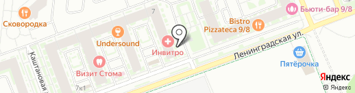 Кухни Гармония на карте Кудрово