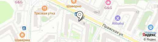 Вернисаж на карте Кудрово