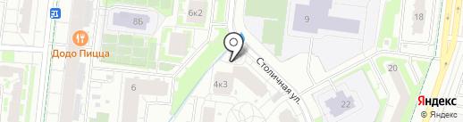 Кудрово на карте Кудрово