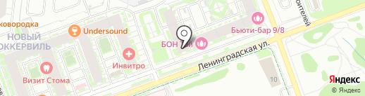 Крепость 24 на карте Кудрово