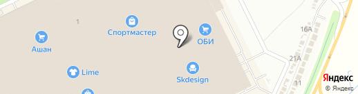 Империя Сумок на карте Кудрово