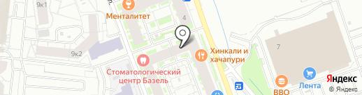 Веста на карте Кудрово