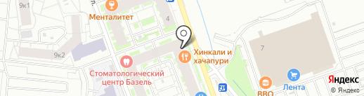 Кафе-бистро на карте Кудрово