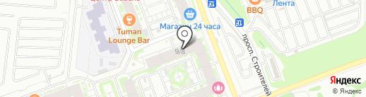 Yoga Room на карте Кудрово