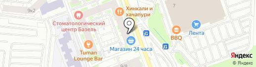 Магазин спортивной обуви для детей и взрослых на карте Кудрово