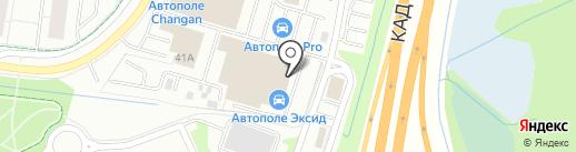 Длинные Берега на карте Кудрово