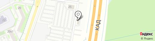 Автополе на карте Кудрово