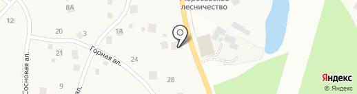 ЛидерСтройБетон на карте Токсово