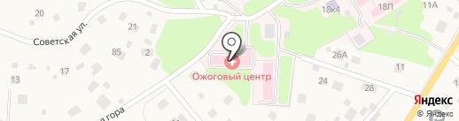 Ленинградская областная клиническая больница на карте Токсово
