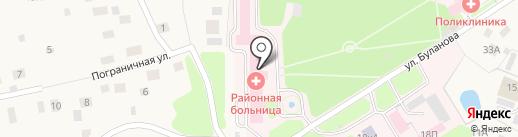 Токсовская районная больница на карте Токсово