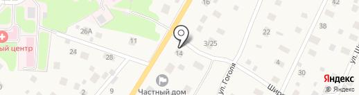 Дом родителя на карте Токсово