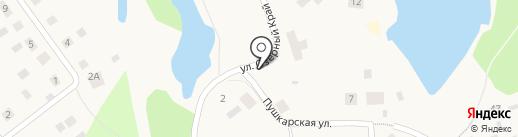 Озёрный край на карте Токсово