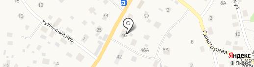 У Тёщи на карте Токсово