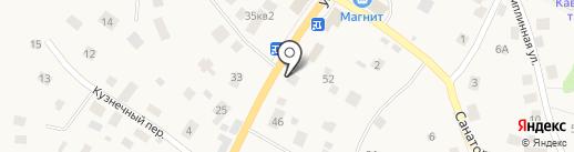 Доктор на карте Токсово