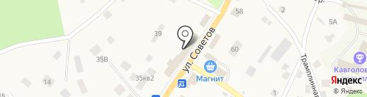 Гла-мурр на карте Токсово