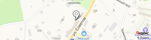 Токсовское потребительское общество на карте Токсово