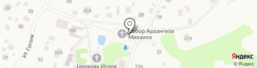 Собор Архистратига Божия Михаила и всех Небесных Сил Бесплотных на карте Токсово