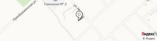 Покровские огоньки на карте Дачного