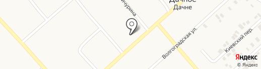 Радуга на карте Дачного