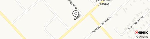 Шиномонтажная мастерская на карте Дачного