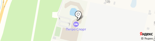 Центр большого тенниса СПБ на карте Янино 1