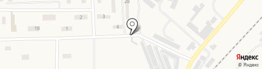 Почтовое отделение связи №2 на карте Великодолинского