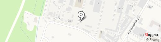 АДТС СПб на карте Янино 1