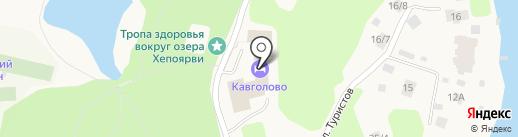 ДЮСШ по горнолыжному спорту на карте Токсово