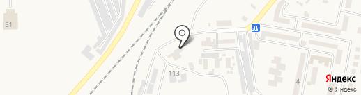 Великодолинский завод ЖБК на карте Великодолинского
