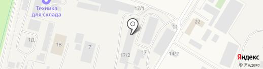 Клин Трейд на карте Янино 1