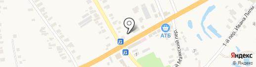 Терминал самообслуживания, КБ ПриватБанк, ПАО на карте Великого Дальника