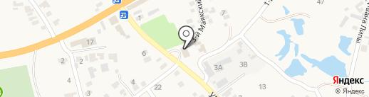 Администрация Великодальникского сельсовета на карте Великого Дальника