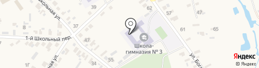 Великодальникский учебно-воспитательный комплекс на карте Великого Дальника