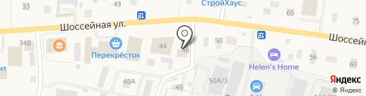 Стройбат-Мери на карте Янино 1