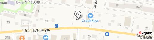 Раковый Ампир на карте Янино 1