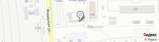 Наш город на карте Санкт-Петербурга