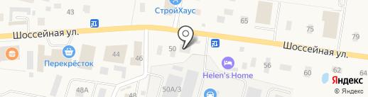 Конный Двор на карте Янино 1