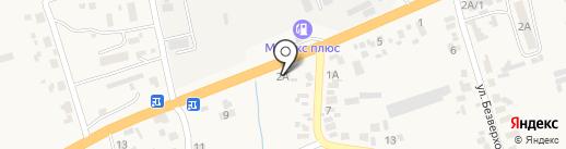 Автомойка на ул. Калинина на карте Великого Дальника