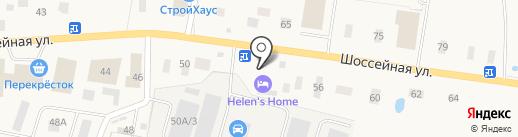 Helen`s Home на карте Янино 1