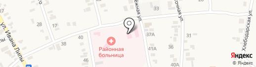 Дальницкая районная больница на карте Великого Дальника
