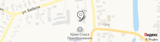 ДЮСШ №1 на карте Великодолинского