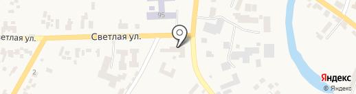 Банкомат, Ощадбанк, ПАТ на карте Великодолинского