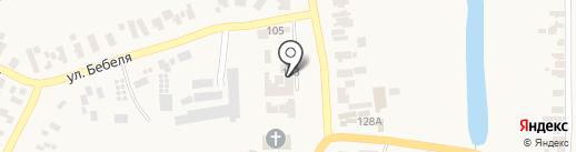 Синдикат+, ПО на карте Великодолинского